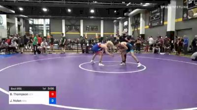 79 kg Prelims - Brayden Thompson, Izzy Style Wrestling vs Jacob Nolan, New York