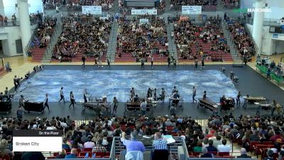 Broken City at 2019 WGI Percussion|Winds West Power Regional Coussoulis