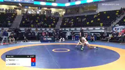 74 kg Semifinal - Jacori Teemer, Sunkist Kids Wrestling Club vs Joey Lavallee, TMWC/ LVWC