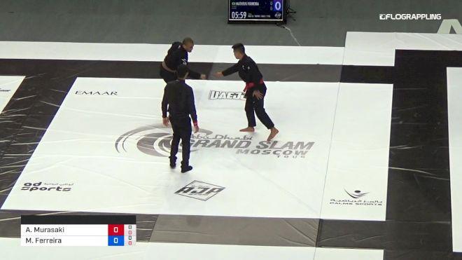 Andy Murasaki vs Matheus Ferreira 2019 Abu Dhabi Grand Slam Moscow