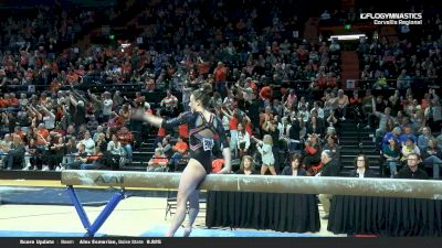Sarah Means - Beam, Boise State - 2019 NCAA Gymnastics Regional Championships - Oregon State