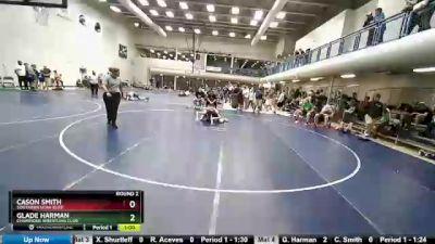 112 lbs Round 2 - Glade Harman, Champions Wrestling Club vs Cason Smith, Southern Utah Elite