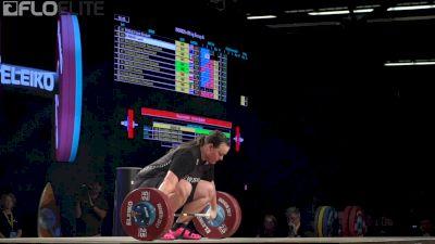 Laurel Hubbard (NZL, +90) Snatches 124kg At 2017 IWF Worlds