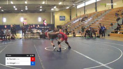 55 kg Final - Dominique Parrish, Sunkist Kids Wrestling Club vs Samantha Klingel, Army (WCAP)