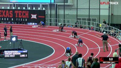 Men's 200m, Round 2 Heat 1