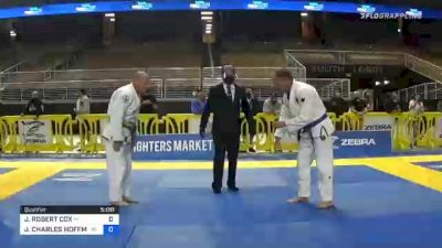 JAMES ROBERT COX vs JOHN CHARLES HOFFMAN 2020 World Master IBJJF Jiu-Jitsu Championship