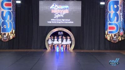 Willow Canyon [2018 Large Varsity Song/Pom Intermediate Finals ] USA Spirit Nationals