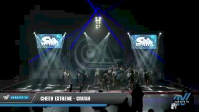Cheer Extreme - Kernersville - Crush [2021 L6 Junior Day 2] 2021 COA: Midwest National Championship