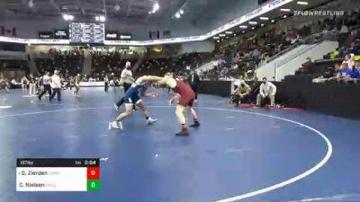 197 lbs Prelims - Gabriel Zierden, Concordia Moorhead vs Chris Nielsen, University Of Dubuque