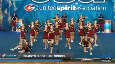 Shadow Ridge High School [2020 Co-Ed Varsity Show Cheer Intermediate Day 2] 2020 USA Spirit Nationals
