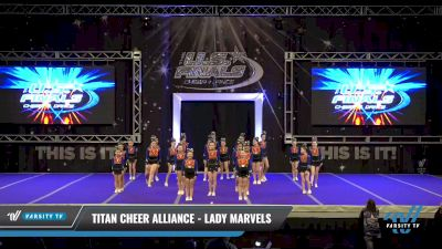 Titan Cheer Alliance - Lady Marvels [2021 L1 Performance Recreation - 12 and Younger (NON) Day 1] 2021 The U.S. Finals: Ocean City
