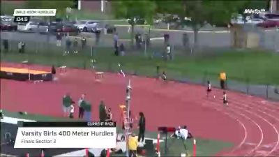 High School Girls' 400m Hurdles Varsity, Finals 2