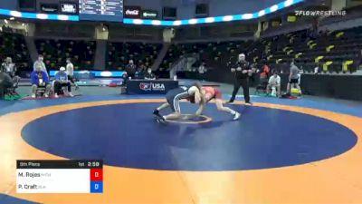 79 kg 5th Place - Manuel Rojas, Michigan vs Peyton Craft, Blair Wrestling Club