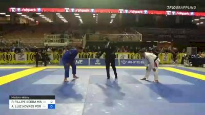 PEDRO FILLIPE SERRA MARINHO vs ANDRÉ LUIZ NOVAES PORFIRIO 2021 Pan Jiu-Jitsu IBJJF Championship