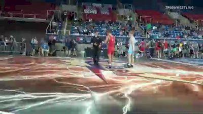 126 lbs Round Of 64 - Drake Ayala, Iowa vs Zane Van Voorhis, Ohio