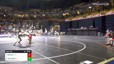 165 lbs Prelims - Thomas Bullard, NC State vs Drew Nicholson, Chattanooga