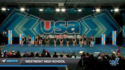 Westmont High School [2020 Large Varsity Show Cheer Novice (17-20) Day 1] 2020 USA Spirit Nationals
