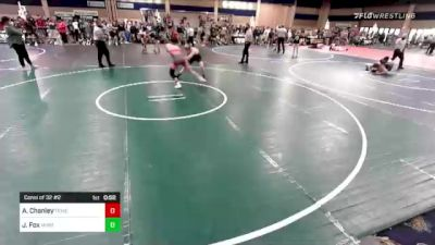 120 lbs Consi Of 32 #2 - Ashton Chanley, Temecula Valley HS vs Justin Fox, Mustang WC