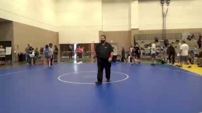 62 kg 5th Place - Morgan Lucio, AZ vs Sydney Perry, IL