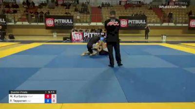 Marat Kurbanov vs Perttu Tepponen 1st ADCC European, Middle East & African Trial 2021