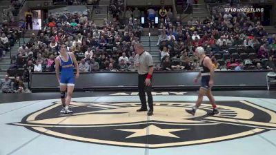 149 lbs Semifinal - Jarod Verkleeren, Penn State vs Reece Heller, Hofstra