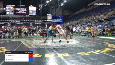 285 lbs Cons 32 #2 - Jason Reyes, Colorado vs Kyle Good, Colorado