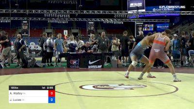 195 lbs Cons 16 #2 - Austin Walley, Pennsylvania vs Jake Lucas, Pennsylvania