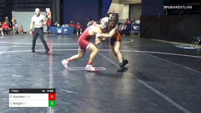 174 lbs Consolation - Foster Karmon, Stanford vs Trent Knight, Campbell