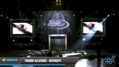 Fusion Allstars - Intensity [2021 L1 Mini - Novice Day 1] 2021 The U.S. Finals: Louisville