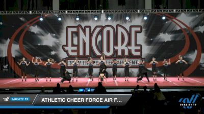Athletic Cheer Force Air Force One [2021 L4-Open Coed Day 2] 2021 Encore Championships: Charlotte Area DI & DII