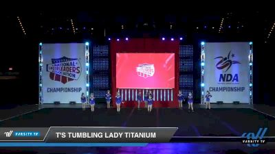- T's Tumbling Lady Titanium [2019 Youth 2 Day 1] 2019 NCA North Texas Classic