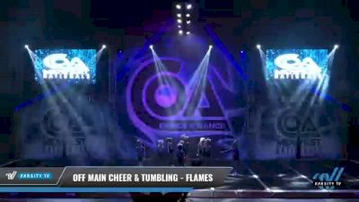 Off Main Cheer & Tumbling - Flames [2021 L2 Mini - Small Day 1] 2021 COA: Midwest National Championship