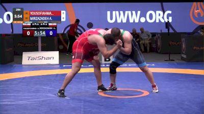 130 kg Final - Aliakbar Yousofiahmadchali, IRI vs Amin Mirzazadeh, IRI