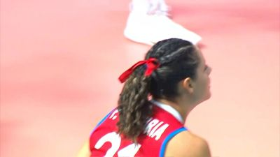 Full Replay - 2019 NORCECA Womens XVIII Pan-American Cup - Group A - Jul 14, 2019 at 1:53 PM CDT