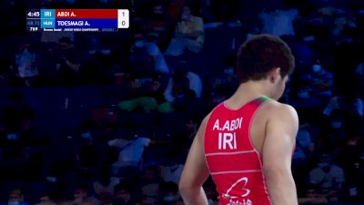 72 kg Final 3-5 - Amir Ali Abdi, Iran vs Attila Tamas Toesmagi, Hungary
