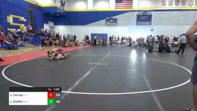 132 lbs 5th Place - Joe Fernau, Izzy Style 1 vs Jake Stoffel, Askren3