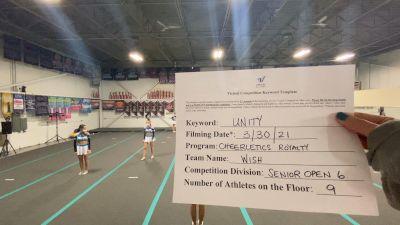 Cheerletics Royalty - WISH [L6 Senior Open] 2021 Mid Atlantic Virtual Championship
