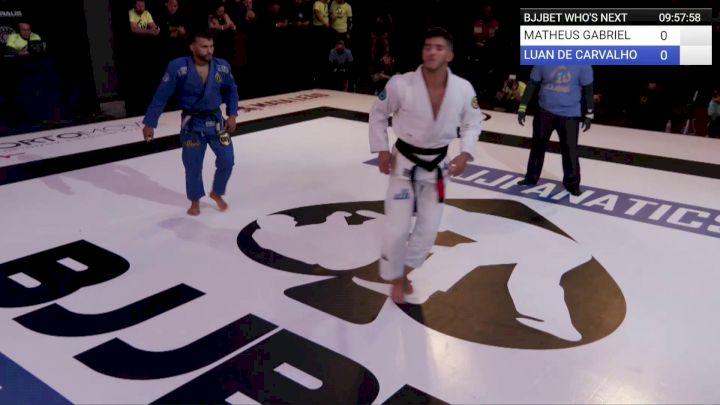 Matheus Gabriel vs Luan Carvalho   BJJBet II