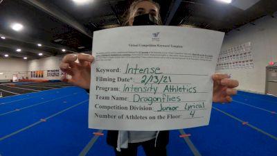 Intensity Athletics - Dragonflies [Junior - Contemporary/Lyrical] 2021 Coastal at the Capitol Virtual National Championship