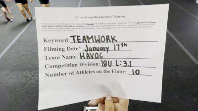 RockStarz Athletics - Havoc [L3.1 Performance Recreation - 18 & Younger (NON)] 2021 Varsity Recreational Virtual Challenge II