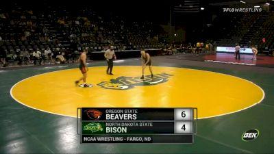 149 lbs - Jaden VanMaanen (North Dakota State) vs Lane Stigall (Oregon State