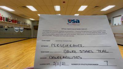 Peak Athletics - Dance Stars Teal [DanceAbilities] 2021 USA All Star Virtual Championships
