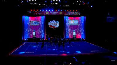 The California All Stars - San Marcos - Rangers [2021 L7 International Open Large Coed Semis] 2021 The Cheerleading Worlds
