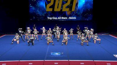Top Gun All Stars - Saints [2021 L6 International Open Coed Non Tumbling Finals] 2021 The Cheerleading Worlds