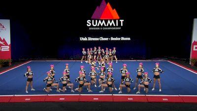 Utah Xtreme Cheer - Senior Storm [2021 L2 Senior - Medium Semis] 2021 The D2 Summit