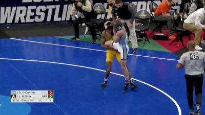 149 q, Austin O'Connor, UNC vs Jonathan Millner, APP