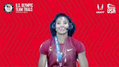 Anna Cockrell - Women's 400m Hurdles Final