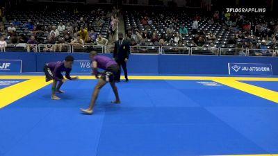 JUAN PABLO LANDERO vs JOAO VICTOR RIBEIRO 2021 World IBJJF Jiu-Jitsu No-Gi Championship