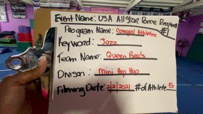 Cowgirl Athletics Queen Bees [Mini - Hip Hop] 2021USA Virtual Spirit Regional #2 and All Star Dance Regional #1