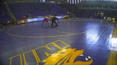 133 lbs - Zach Redding, Iowa State vs Anthony Madrigal, Oklahoma